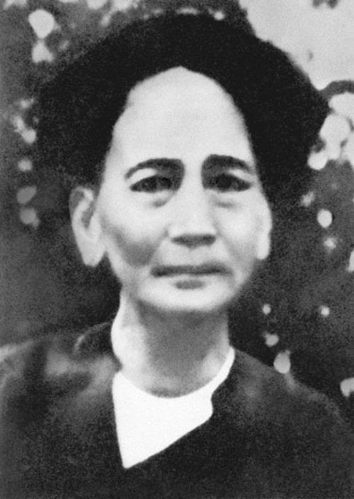 Cô Nguyễn Thị Thanh - chị gái của chủ tịch Hồ Chí Minh
