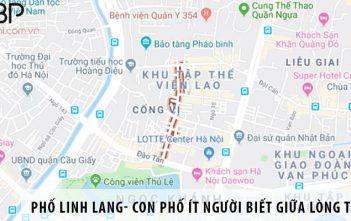 Phố Linh Lang- con phố ít người biết giữa lòng thủ đô
