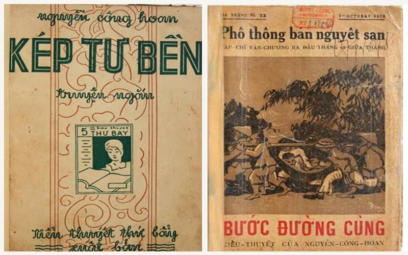 Những tác phẩm nổi tiếng của Nguyễn Công Hoan