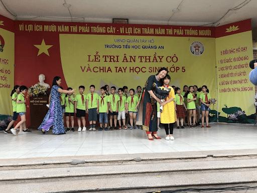Trường tiểu học Quảng An - Tây Hồ, Hà Nội