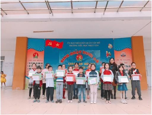 Trường tiểu học Nhật Tân - Tây Hồ, Hà Nội