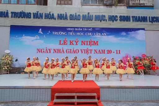 Trường tiểu học Chu Văn An - Tây Hồ, Hà Nội
