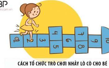Hướng dẫn cách tổ chức trò chơi nhảy lò cò cho bé