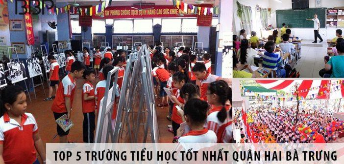 Top 5 trường tiểu học tốt nhất quận Hai Bà Trưng, Hà Nội