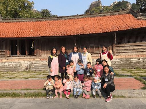 Các con còn được đi dã ngoại tại khu di tích lịch sử Chùa Thầy