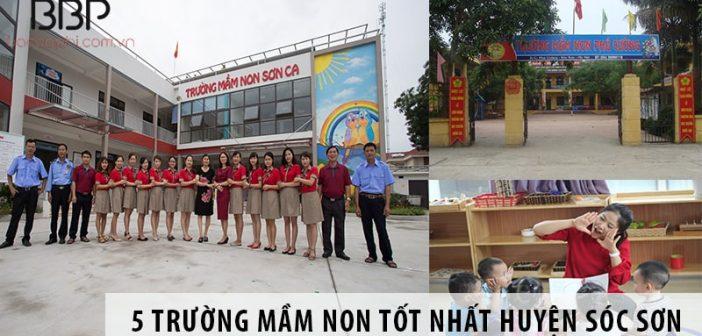 Top 5 trường mầm non tốt nhất huyện Sóc Sơn