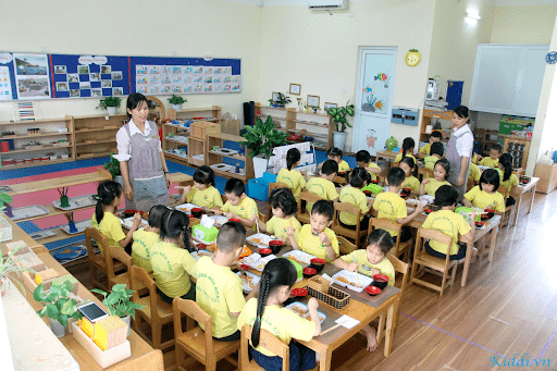 Trường mầm non Tuổi Thần Tiên - Thanh Trì, Hà Nội