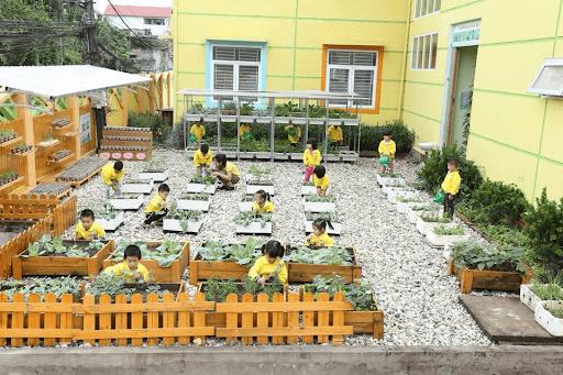 Trường mầm non Uy Nỗ - Đông Anh, Hà Nội