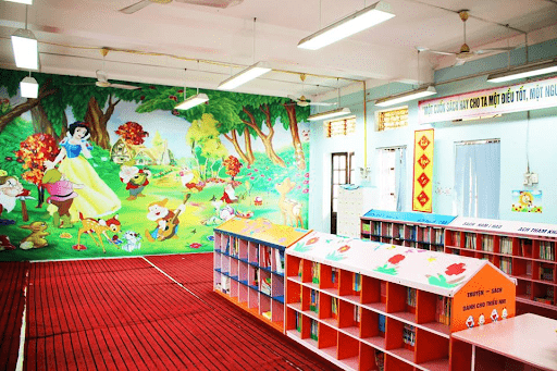 Thư viện của nhà trường