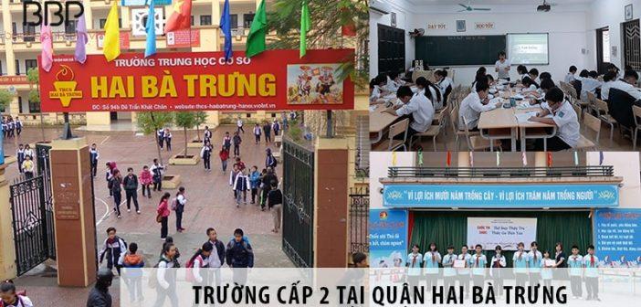 Top 5 trường THCS chất lượng tại quận Hai Bà Trưng, Hà Nội