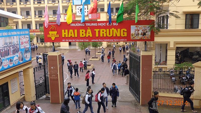 Trường THCS Hai Bà Trưng - phường Thanh Lương