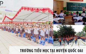 3 trường tiểu học công lập chất lượng tại huyện Quốc Oai