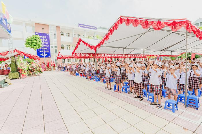 Trường tiểu học Sài Sơn A - xã Sài Sơn