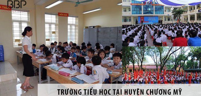 Top 3 trường tiểu học tốt nhất tại huyện Chương Mỹ