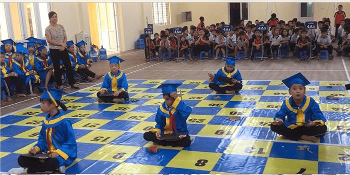 Hội thi Rung chuông vàng tại trường tiểu học Sơn Đồng