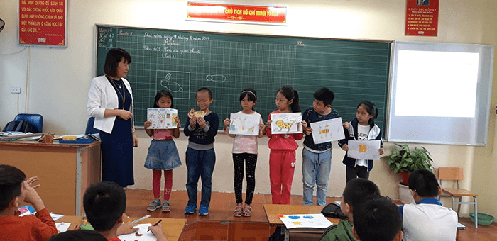 Trường tiểu học Di Trạch - xã Di Trạch