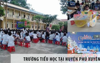 3 trường tiểu học tốt nhất tại huyện Phú Xuyên