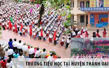 4 trường tiểu học tốt nhất tại huyện Thanh Oai