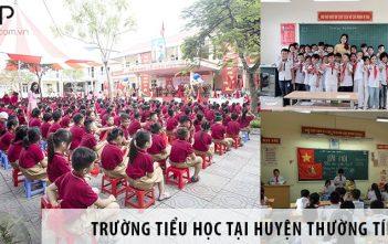 3 trường tiểu học tốt nhất tại huyện Thường Tín