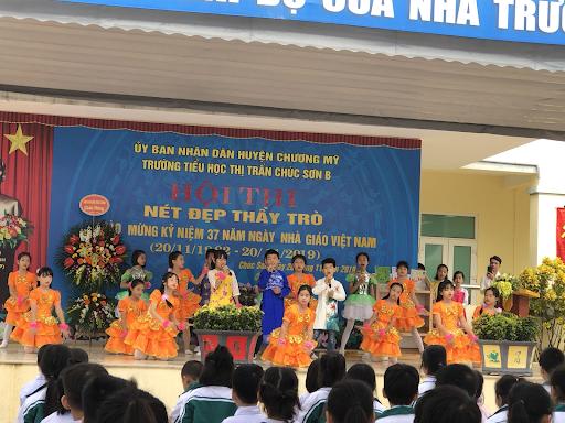 Trường tiểu học Chúc Sơn B