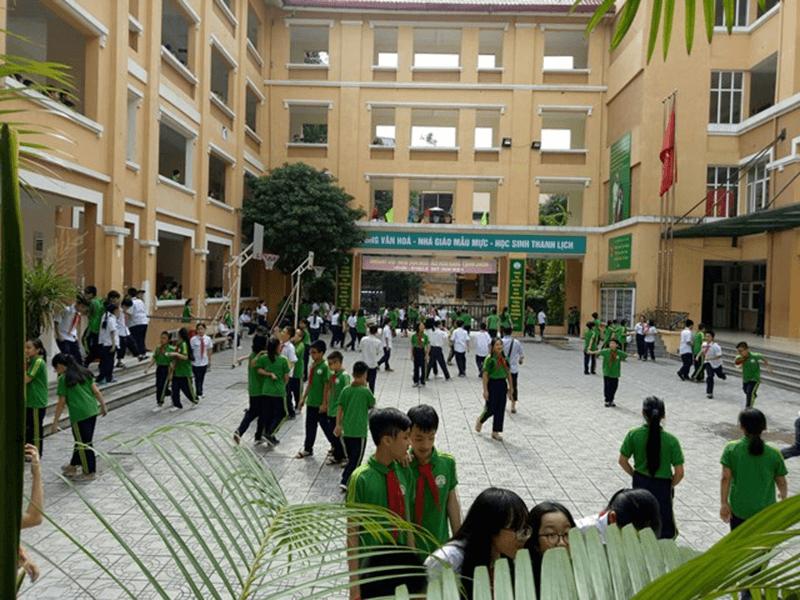 Trường THCS Nguyễn Tri Phương - Phường Quán Thánh