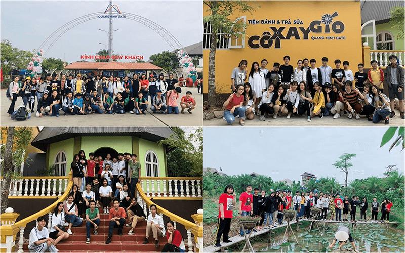 Học sinh trường THCS Ba Đình tham quan dã ngoại tại Quảng Ninh Gate