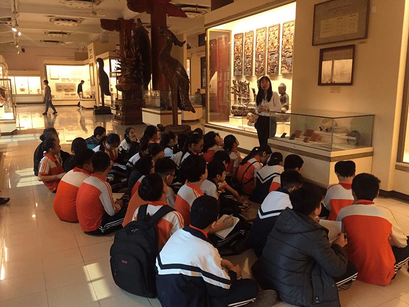 Buổi học tập thực tế tại Bảo tàng Lịch sử Quốc gia