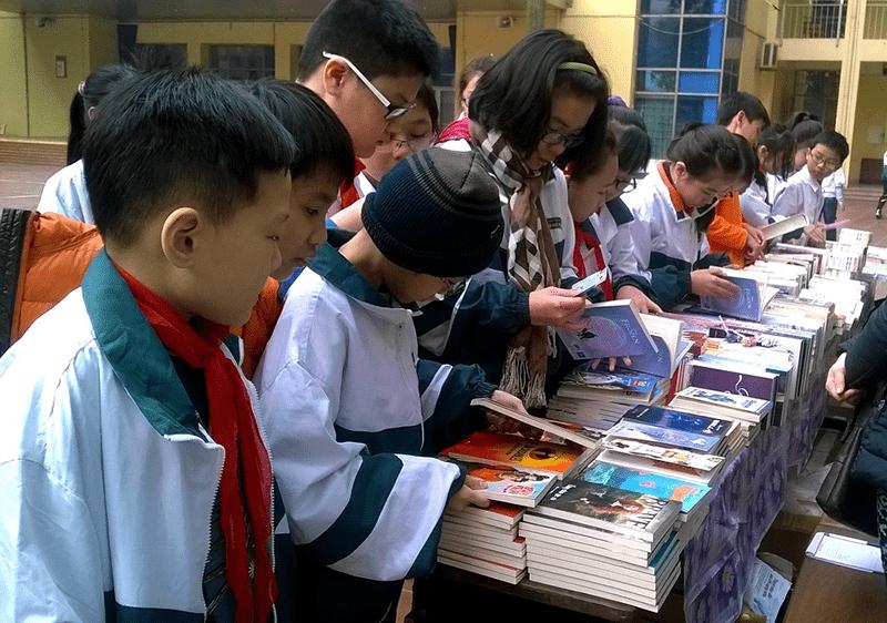 Ngày hội đọc sách của nhà trường