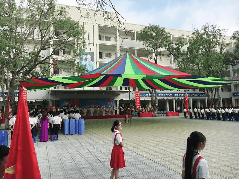 Trường THCS Sài Đồng - Đường Nguyễn Văn Linh