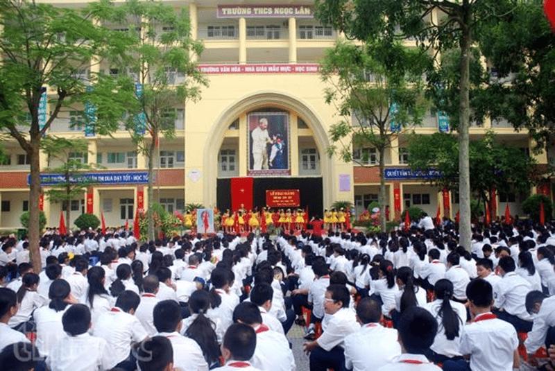 Trường THCS Ngọc Lâm - Phường Bồ Đề