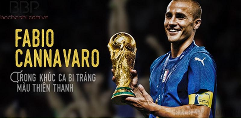 Fabio Cannavaro - Nổi tiếng với những pha tắc bóng ấn tượng