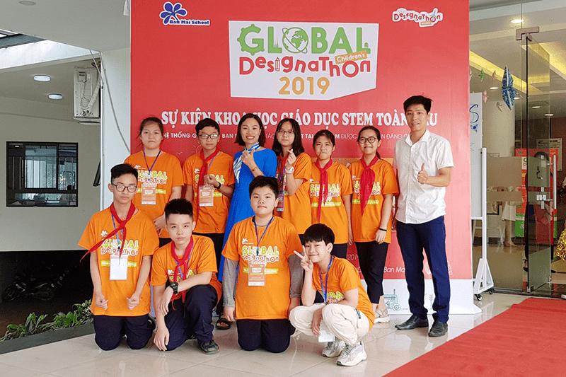 Sự kiện khoa học giáo dục STEM toàn cầu của trường THCS Nguyễn Trãi