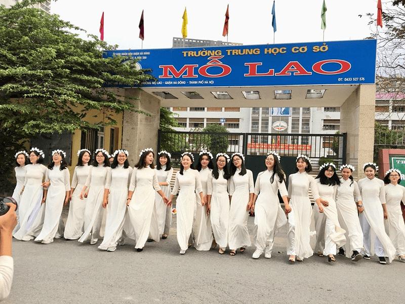 Trường THCS Mỗ Lao - Khu đô thị Mỗ Lao