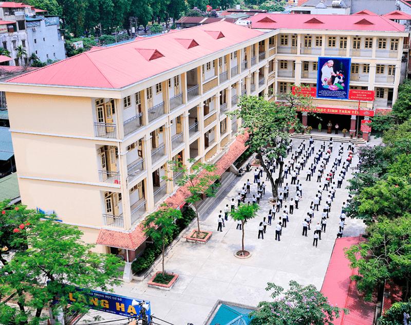 Trường THCS Láng Hạ