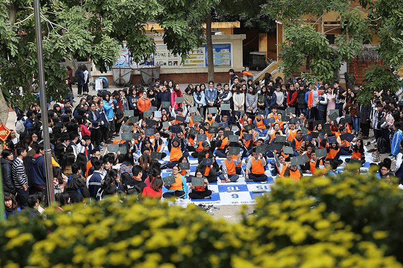 Cuộc thi Rung chuông vàng do trường tổ chức