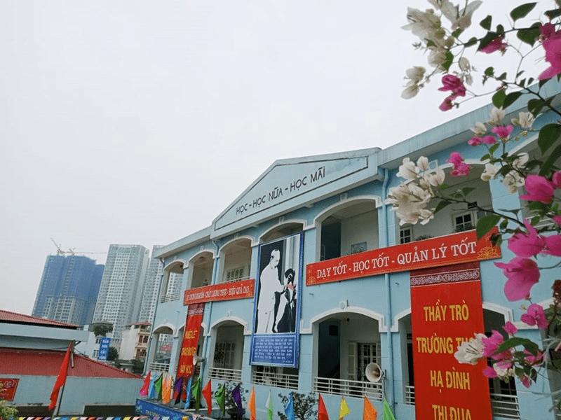 Trường THCS Hạ Đình - đường Khương Đình