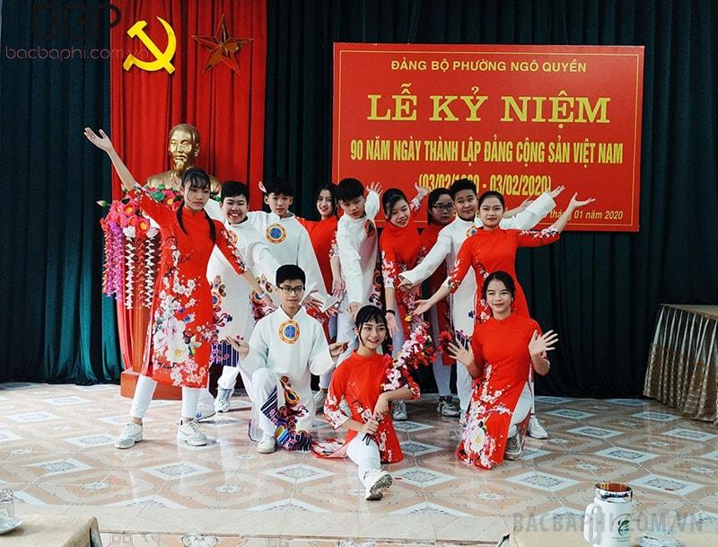 Lễ kỷ niệm ngày thành lập Đảng cộng sản Việt Nam của trường THCS Ngô Quyền