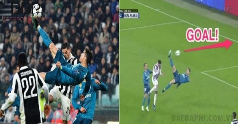 Cú vô lê ngược đỉnh cao của Ronaldo