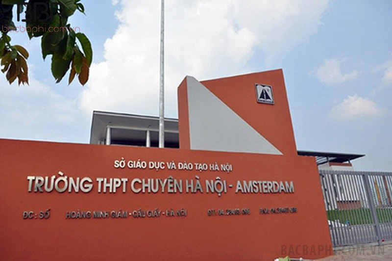 Trường THPT chuyên Hà Nội - Amsterdams