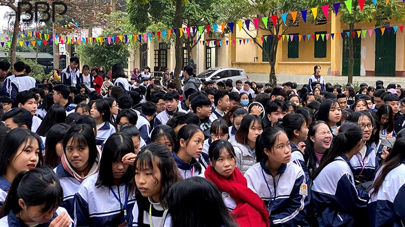 Trường THPT Cao Bá Quát - xã Tân Hòa
