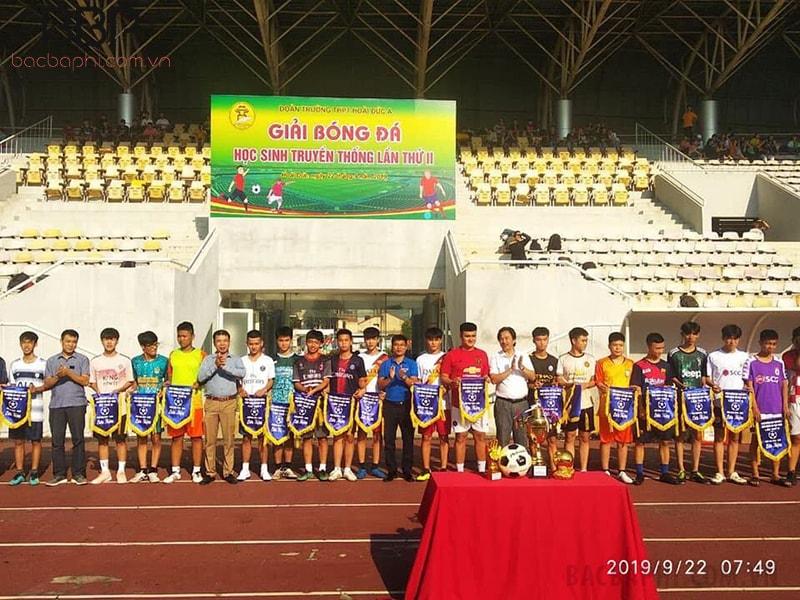 Giải bóng đá học sinh truyền thống của nhà trường