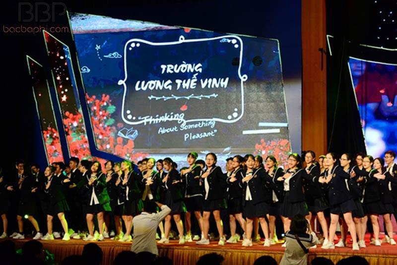 Lễ kỷ niệm ngày thành lập trường THPT Lương Thế Vinh