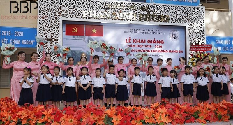 Trường tiểu học Phan Đình Phùng - Phường 2