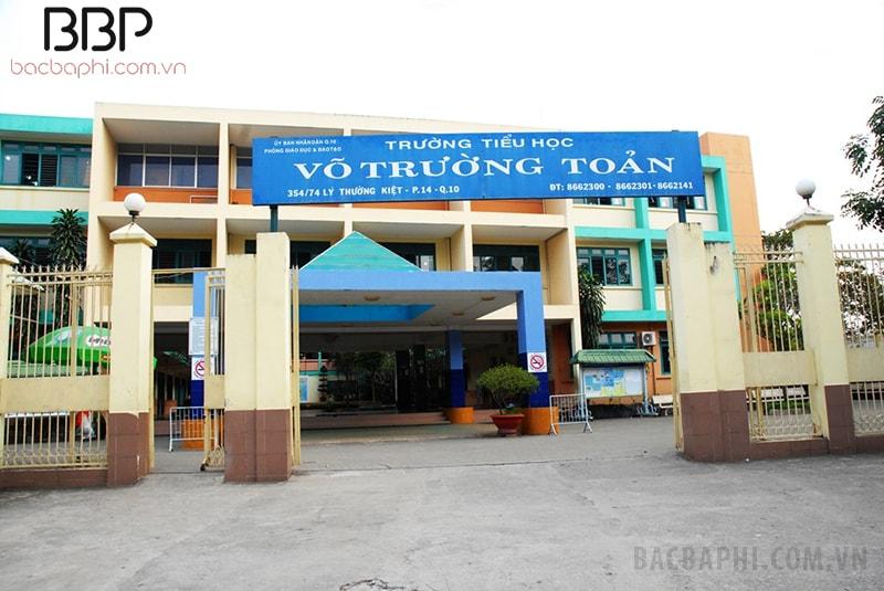 Trường tiểu học Võ Trường Toản - phường 14