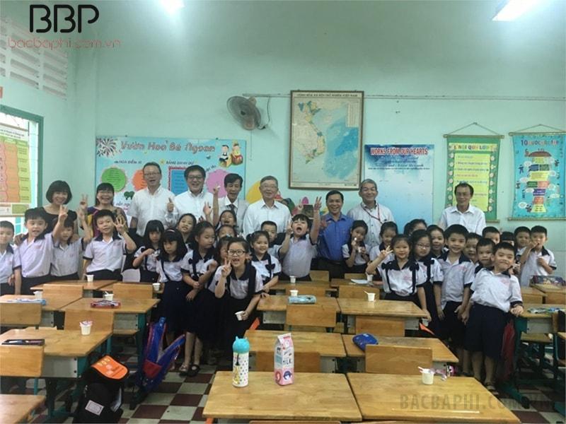 Trường tiểu học Trưng Trắc - phường 15