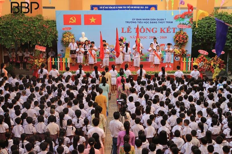 Trường tiểu học Đặng Thùy Trâm - phường Tân Thuận Tây