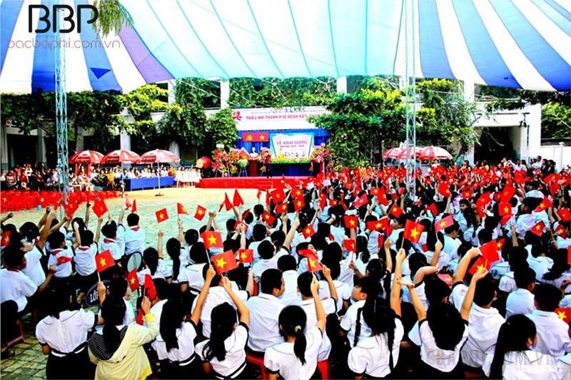 rường tiểu học Lê Văn Việt - Phường Tăng Nhơn Phú A