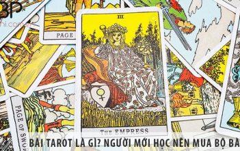 Bài Tarot là gì? Người mới học Tarot nên mua bộ bài nào?