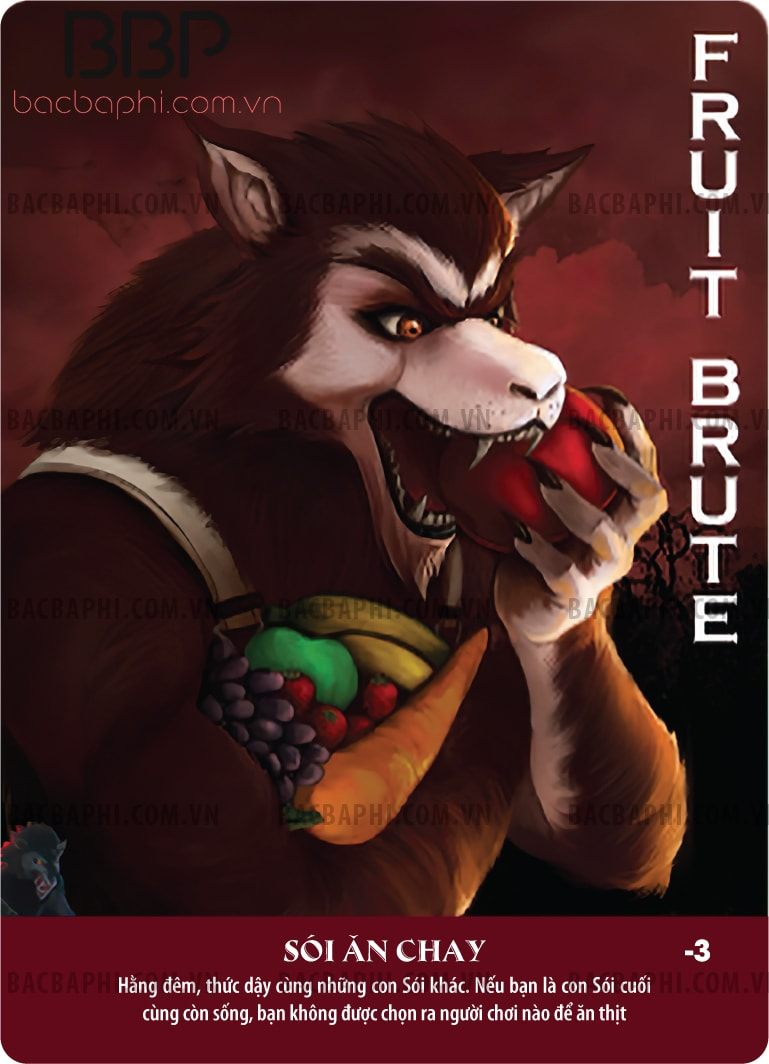Fruit Wolf (Sói ăn chay)