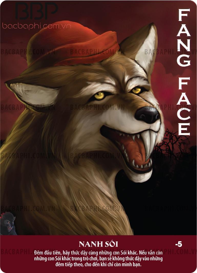 Fang Face (Nanh sói)